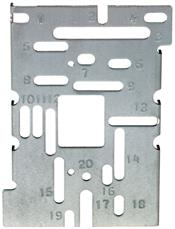 Siemens Building Technologies 192301 Multi-Slotted Plate