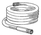 Monti & Associates, Inc. Div. of MA-Line MAW455 10-pk Hose Washers for Flexogen Garden Hose and No