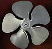 "ACME Miami 2403 Acme 4"" CW 3/16"" Fan Blade"