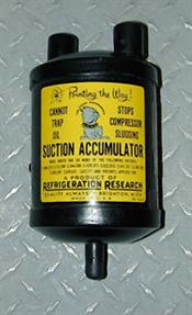 Refrigeration Research 3701 SUCTION ACCUMULATOR