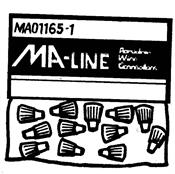 Monti & Associates, Inc. Div. of MA-Line MA011641 Porcelain Wire Connector, Small Wire Connector