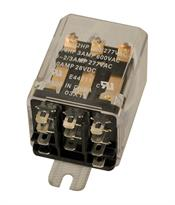 MARS - Motors & Armatures, Inc. 43056 Enclosed Switching Relay, 24VAC, 3PDT