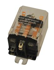 MARS - Motors & Armatures, Inc. 43060 Enclosed Switching Relay, 24VAC, SPDT