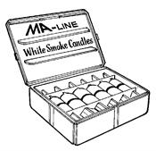 Monti & Associates, Inc. Div. of MA-Line MASC600CF White Smoke Cartridges