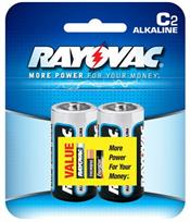Ray-O-Vac Corporation 8142 ALKALINE C BATTERY 2-PACK