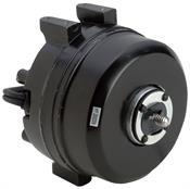 A.O. Smith Corporation 236 1550 RPM Unit Bearing Fan Motor, Aluminum, Shaded Pole, 3 Mounting Holes