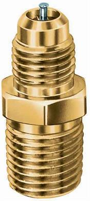 JB Industries A31484 JBI 1/4 MPT x 5/16 OD access valve half union