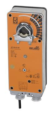 Belimo Aircontrols (USA), Inc. AF120S Belimo actuator 120V spring return W/aux switch