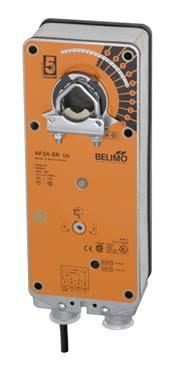 Belimo Aircontrols (USA), Inc. AF24S Belimo actuator 24V spring return W/2 aux switch