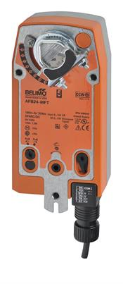 Belimo Aircontrols (USA), Inc. AFB24MFT 180 IN-LB. SPRING RETURN ACTUATOR