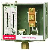 Honeywell, Inc. L404F1367 MAIN SCALE 1 TO 8 PSI. ADJ. DIFF: .75 TO 2 PSI. LESS SIPHON.