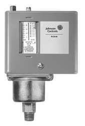 Johnson Controls, Inc. P47AA13C Steam Pressure Control, Spst, 0/150#