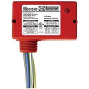 Functional Devices (RIB) RIB2401DRD DISCONTINUED Enclosed Relay 10Amp DPDT 24Vac/dc/120Vac Red Hsg