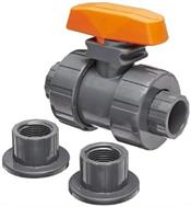 Hayward Industrial Products, Inc. TB2100ST 1 S&T CPVC DBL UN BALL VALVE