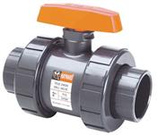 Hayward Industrial Products, Inc. TB2150ST 1-1/2S&T CPVC DBL UN BALL VALVE