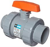 Hayward Industrial Products, Inc. TB2200ST 2 S&T CPVC DBL UN BALL VALVE