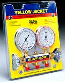 Ritchie Engineering Co., Inc. / YELLOW JACKET 41312 Red & blue gauges