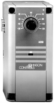 Johnson Controls, Inc. A350BA1C Electronic Temp Control,Range34/55C