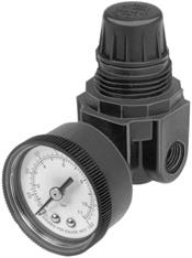 Honeywell, Inc. ARR262 Air Supplies; Minature Pressure Regulator (0-125 psi Range), no gage