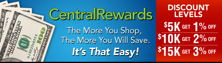 Controls Central Rewards Program