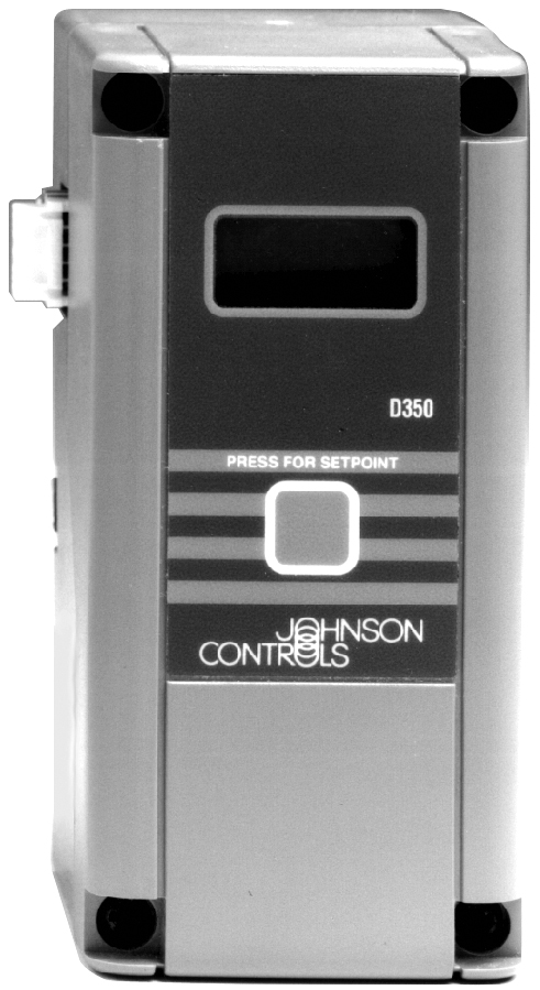 Johnson Controls, Inc  D350AA1C Sys350 Electronic Temperature Display