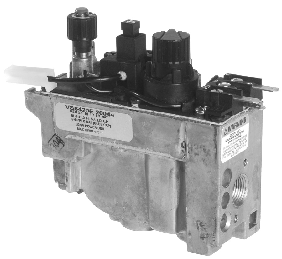 Honeywell Inc Vs8420e2113 Vs8420 Millivolt Gas Valve At