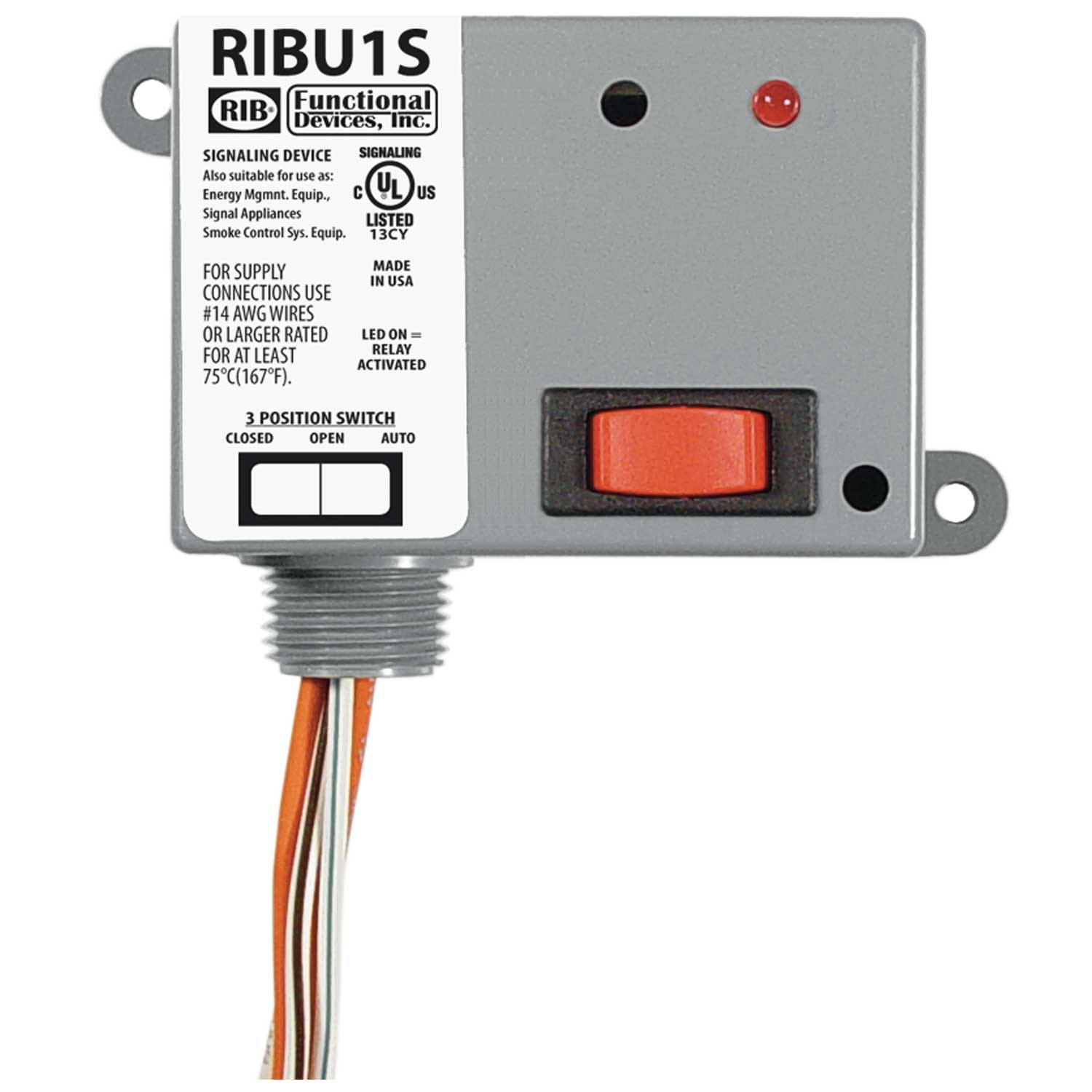 RIB RIBXKF Current Switch Ships on the Same Day of the Purchase