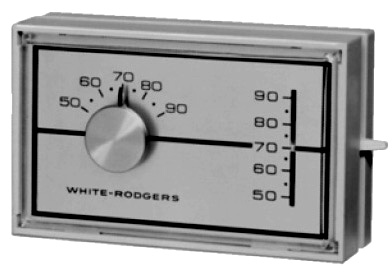 White-Rodgers / Emerson 1F30910 Horizontal Thermostats with